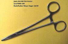 Nadelhalter MAYO Hegar, 16CM, Chirurgische Instrument, Hochwertige Qualitaet.