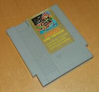 Rare vintage early 1990s NTSC US Nintendo NES SuperVision 1944 game cartridge