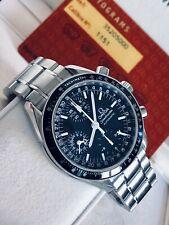 Omega Speedmaster Mark 40 Men's Black Dial Triple Date Automatic M40 watch + Box