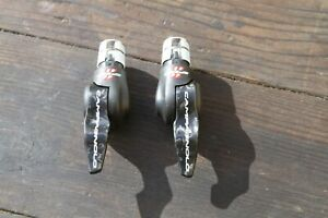 Campagnolo 11speed carbon time trial shifters USED EXC Record bar end