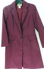 Reed Hill Child's Saddleseat Day Coat Burgundy poly/cotton 4 - USA