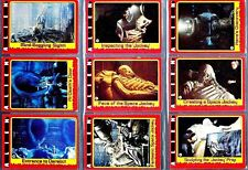 TOPPS TRADING CARDS ALIEN (1979) SINGLE CARDS UK FREE POST