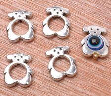 20pcs Tibetan silver charm bear bead spacer loose beads 12x11mm A3131