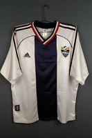 4.3/5 Yugoslavia jersey Large 1998 2000 away shirt soccer football Adidas ig93