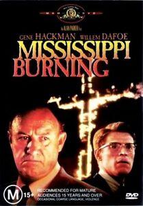 MISSISSIPPI BURNING New Dvd R4 GENE HACKMAN ***