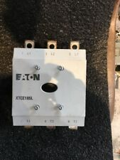 EATON CONTACTOR CAT. XTCE185L 275A 3 POLE 24-48VDC COIL USED GOOD CONDITION