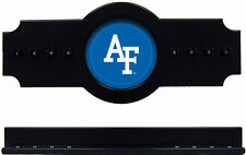 NCAA Air Force Falcons 2 pc Hanging Wall Pool Cue Stick Holder Rack - Black
