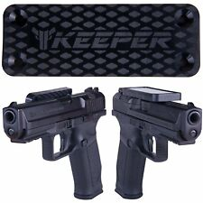 Magnetic Gun Mount & Holster For Vehicle And Home - HQ Rubber Coated 35 Lb Rated