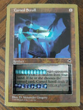 MTG Magic the Gathering Abacus Life Counter *CURSED SCROLL* 2-Sided RARE