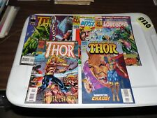 Thor Lot of 6 books #482 #494 #495 #499 #511 and #-1 Flashback