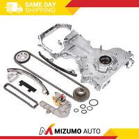 Timing Chain Kit Oil Pump Fit 02-06 2.5L Nissan Altima Sentra DOHC QR25DE