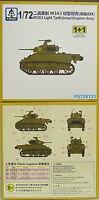 Leichter Panzer M3A3 ( British) , 1/72, S-Model ,Doppelpack 2 Modelle , NEUHEIT