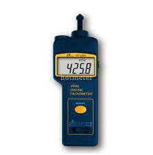 LUTRON DT-2268 Foto/contacto Tacómetro Revolución Medidor de velocidad de rotación