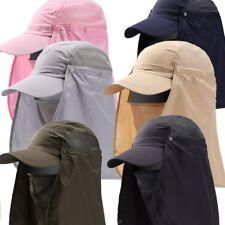 Unisex Outdoor Sport Fishing Hiking Hat UV Protection Neck Face Flap Men Sun Cap