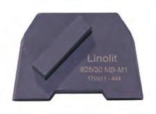 "Concrete Diamond Grinding Disc - 9x / Medium Bond #25/30 - 9 pieces "" Lavina"""