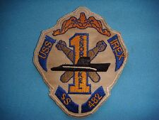 US NAVY PATCH USS IREX SS-482 TENCH - CLASS SUBMARINE