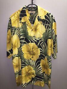 Tommy Bahama, 100% Silk Shirt, Men Top,  Luxury,