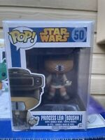 Funko Pop! Star Wars #50 Boushh Princess Leia Blue Box Rare Vaulted Protector