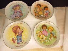 4 Avon Mini Mother's Day Plates 1981 1982 1983 1984