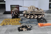 WW2 608 pcs combat tank 3Pcs soldiers Minifigures lego MOCs & weapons Toys Child