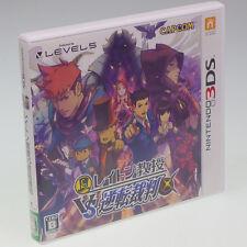 Nintendo 3DS Professor Layton vs Ace Attorney Gyakuten Saiban Japan Import Comp