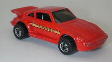 Hotwheels Red Porsche Turbo 1989 Malaysia oc16532