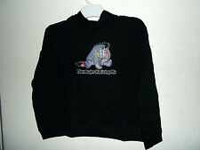 """NEW EEYORE HOODIE  """"thank you for noticing me""""  size M jr cut DISNEY"""
