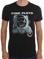 Pink Floyd Still First In Space Spaceman Black Men's T-Shirt New