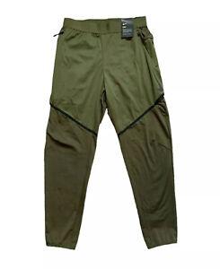 Nike Men's Dri-Fit Olive Green Training Cargo Pants Size M 927360-395