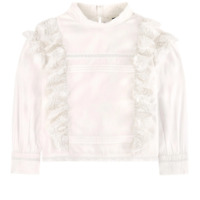 NEW RRP £55.30 Zadig&Voltire Blouse With Lace  Shirts                      (BU6)