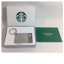 Starbucks 2015 2nd Limited Edition .925 Sterling Silver Card Keychain $0 Bonus
