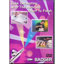 "Badger Air-Brush Co.  ""Cake Decorating with an Airbrush"" DVD"