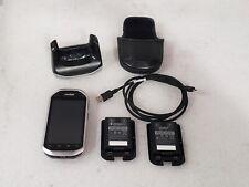 Zebra Symbol Motorola Mc40 Barcode Scanner w/ 2 Batteries Charging Cradle Cable