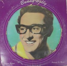 "Buddy Holly Peggy Sue MONO 12"" Picture Disc Vinyl NM/G 45 RPM SS-8002"