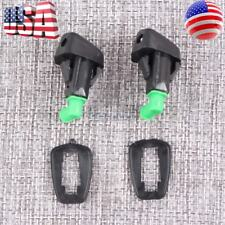 2x New Windshield Washer Water Spray Nozzle for 1998-2002 Honda Accord 2.3L 3.0L