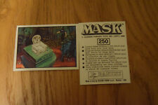 Mask Panini sticker 1986 ( M.A.S.K.  Kenner parker toys ) number 250