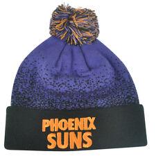 88cfd2105aa NBA Mitchell Ness Title Knit KM11 Cuffed Pom Pom Beanie Phoenix Suns HWC  Skully