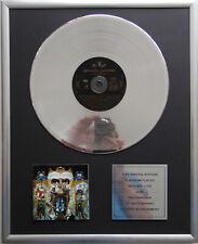 """Michael Jackson - Dangerous CD Cover + 12"""" Vinyl goldene / platin Schallplatte"""