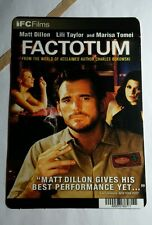 FACTOTUM MATT DILLON LILI TAYLOR MA TOMEI MINI POSTER BACKER CARD (NOT A movie )