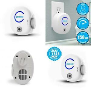 Plixio Portable Odor Eliminating Plug-in Ionic Air Purifier & Ozone...