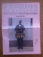 MARTIN PARR FASHION NEWSPAPER - SIGNED - FIRST EDITION - SCARCE PHOTOBOOK