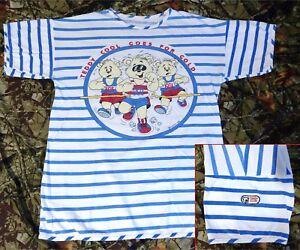 80s Teddy Club Cool Running Bear L thin Shirt USA olympics ruxpin single stitch