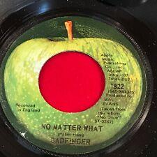"BADFINGER No Matter What 1970 USA 7"" vinyl single EXCELLENT CONDITION"