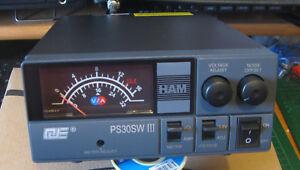 QJE 30 Amp PS-SM-30 SHARMAN 30 Amp Switch Mode PSU DC Power Supply Unit