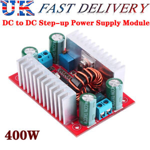 400W DC-DC Step Up Boost Buck Voltage Converter Power Supply Boost Drive Module