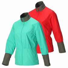 Ladies Callaway Lightweight Jacket Wind Resistant Green/Grey Red/Grey M,L,XL New