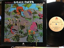 THE HISTORY OF SMALL FACES (EARLY HITS) ~ 1972 1ST PRESS ~ LP=NM ♫ CVR=VG+ (T1)