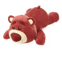 "Disney Store Lotso Cuddleez Plush Large 25"" Super Soft Toy Story 4 Collectible"