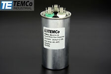 Temco 30/5 MFD UF Dual Run Capacitors 370 440 VAC Volts AC Motor 30 5