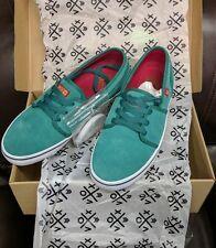 Vox fisker Skate Skateboard Shoes, aqua/green/red size 9.5